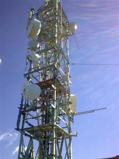 Torre redes WiFi